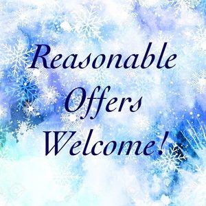Like an item? Make an offer!